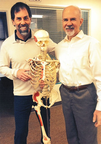 Peter Sheridan - With Mark Bookhout MS, PT, Assoc. Professor of the Dept. of Physical Medicine and Rehabilitation at Michigan State University, College of Osteopathic Medicine